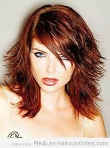 This medium length long layered hairstyles is a hairstyle that is