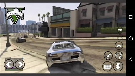 gta 5 for android gta 5 android gameplay bugatti veyron driving grand theft auto v android