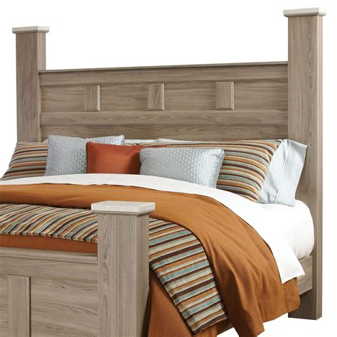 standard headboard sizes standard furniture stonehill 69402 casual queen poster