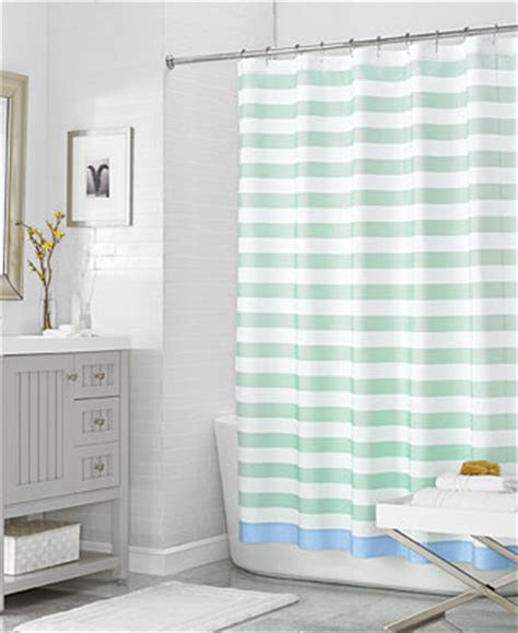 Martha Stewart Shower Curtains Martha Stewart Collection 72 Quot X 72 Quot House Stripe Shower Curtain Only At Macy S Shower