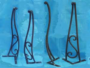 wrought iron furniture legs