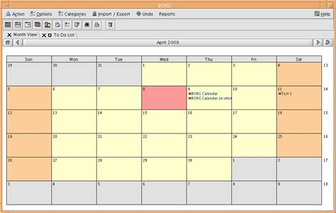 Java Calendar 0 Based Free Softwares For Openvms Borg Calendar