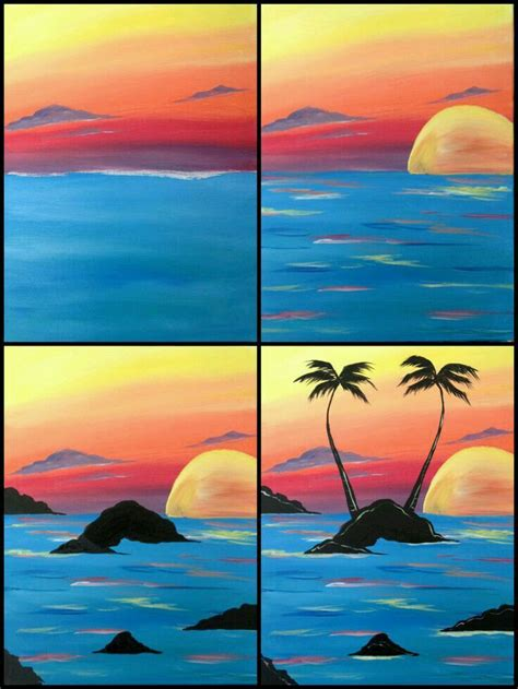 acrylic painting on canvas cranes sunset 4356 best images about photos to print for wall on