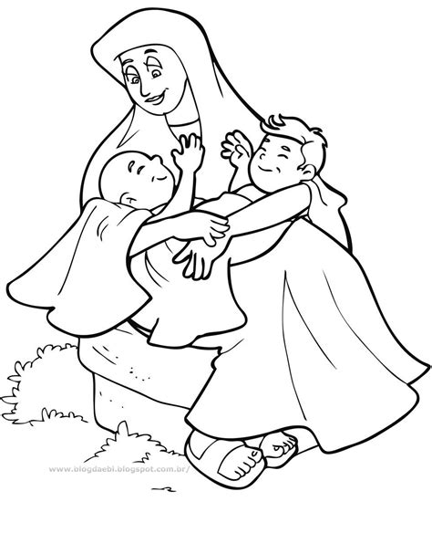 coloring page jacob and esau jacob and esau coloring page