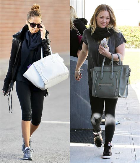 Other Designers Hilary Duff With Designer Travel Bags by Phantom Handbag Cn Replica Bags
