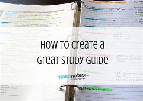 Best 25 Study Guides Ideas On Pinterest School Study Tips Back To School Organization And Creating A Study Guide Template
