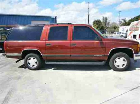 how things work cars 1994 gmc suburban 1500 electronic valve timing sell used gmc suburban 1500 special luxury edition v8 4x4 5 7liter in fort pierce florida
