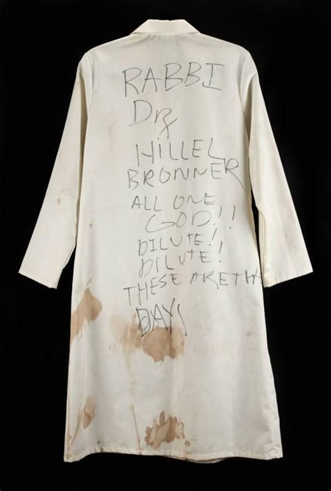 To Auction Kurts Stuff by Kurt Cobain 1991 Concert Worn Lab Coat Current Price 5500