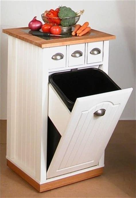 kitchen garbage storage venture horizon 4124 11wh butcher block bin kitchen island