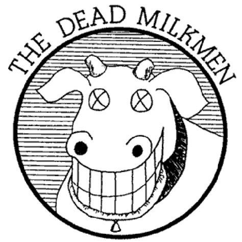 Dead Milkmen Cow Logo from the news nest dead milkmen announce west coast tour dates the owl mag
