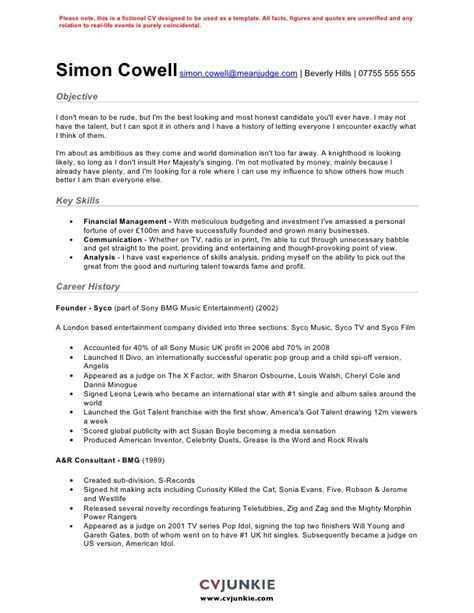 cv resume template uk resumes cv