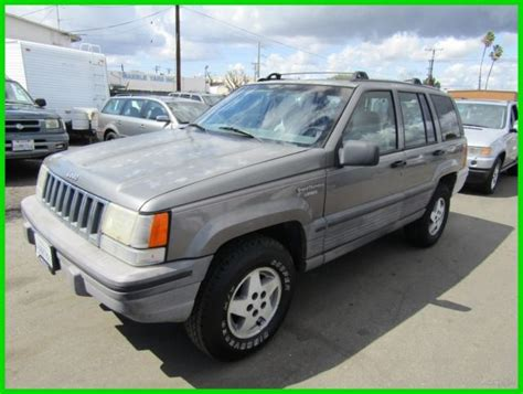 how to sell used cars 1994 jeep grand cherokee auto manual c 1994 jeep grand cherokee se used 4l i6 12v suv no reserve classic jeep grand cherokee 1994
