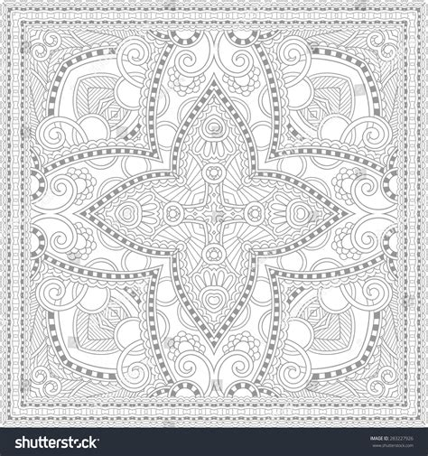 unique coloring pages for adults unique coloring book square page for adults floral