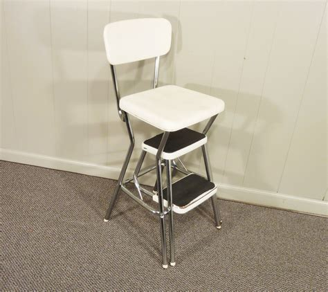 Retro Stool With Steps by Retro Cosco 50s Vintage Step Stool Kitchen Stool By