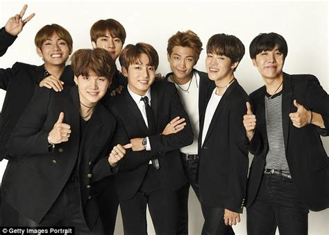bts korean boy band time s 25 most influential people on the internet daily