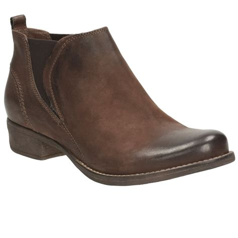 clarks colindale oak womens casual boots charles clinkard