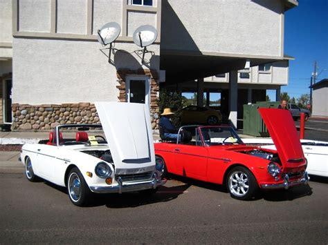 vintage datsun convertible classic datsun car show pictures