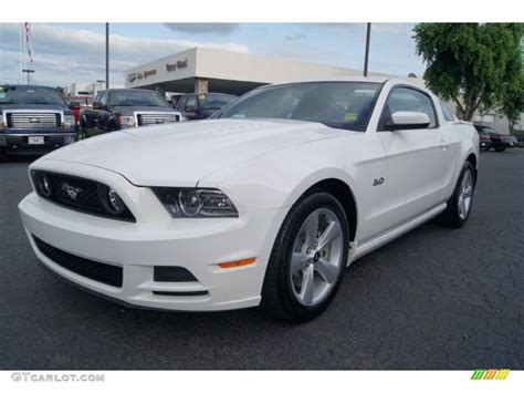 white mustang gt performance white 2013 ford mustang gt premium coupe