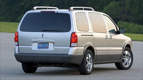 2005 Pontiac Montana Sv6 Recalls by 2005 2009 Chevrolet Uplander Pontiac Montana Sv6 Pre