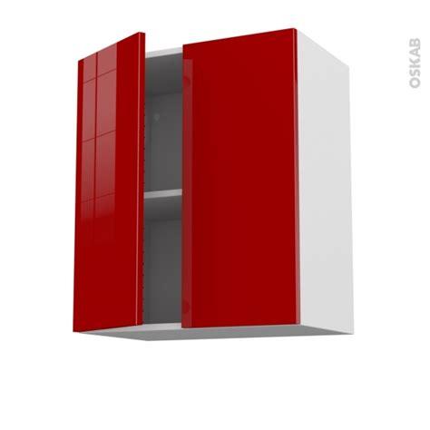 Attrayant Fixation Meuble Bas Cuisine #7: Rouge-stecia-meuble_haut_ouvrant-2_portes-l60xh70xp37-face-oskab.jpg