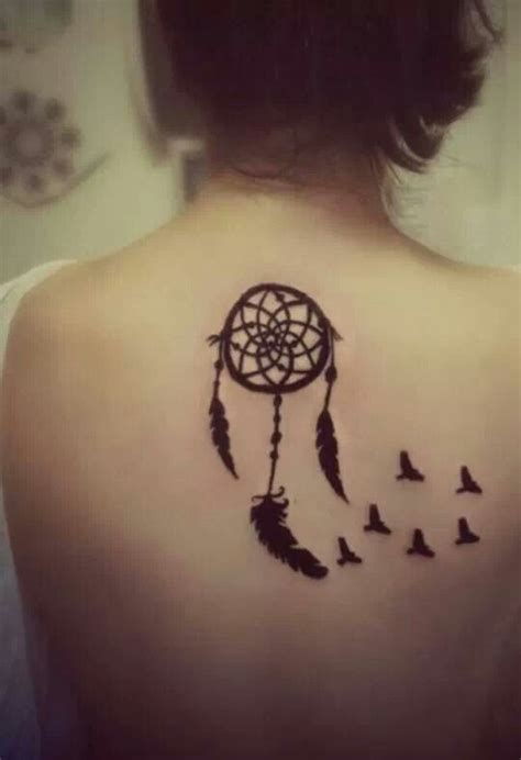 dreamcatcher henna tattoos catcher with birds flying henna tattoos