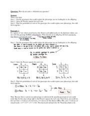 Mendelian Genetics Worksheet Answers by Non Mendelian Genetics Worksheet Worksheets Tutsstar