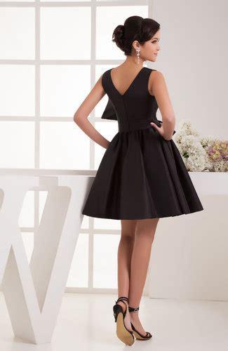 black summer cocktail dress petite mini classy formal