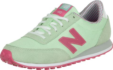 new balance wl410 w shoes green pink