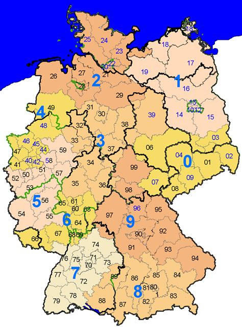 Zip Code Map Germany | zip code map germany my blog