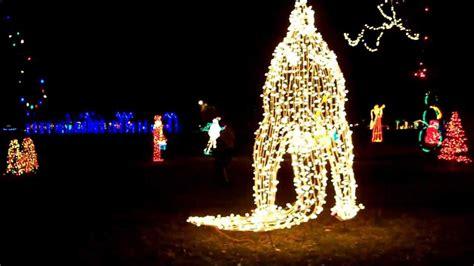 layton ut christmas lights in the park 12 07 11 youtube