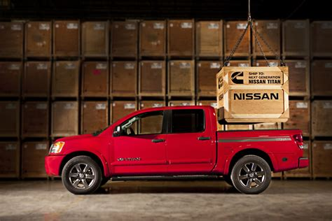 nissan trucks cummins nissan titan to get cummins turbo diesel engine