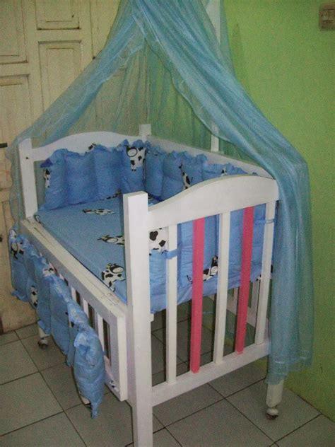 Tempat Tidur Bayi Plus Kelambu sewa mainan makassar pelangi baby box tempat tidur bayi
