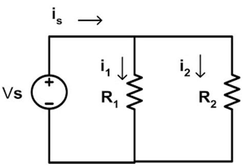 parallel resistor current division cyberspace voltage divider rule vdr and current divider rule cdr