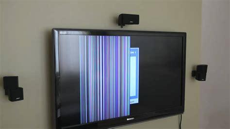 faulty toshiba lcd tv