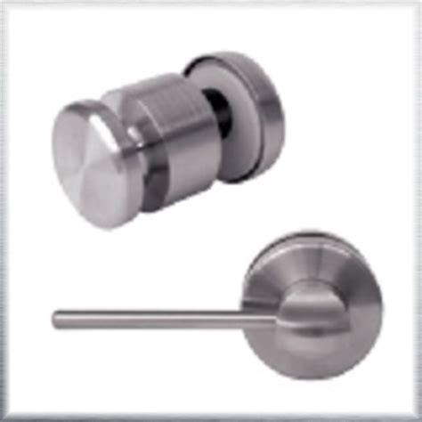 glass shower door lock with stick