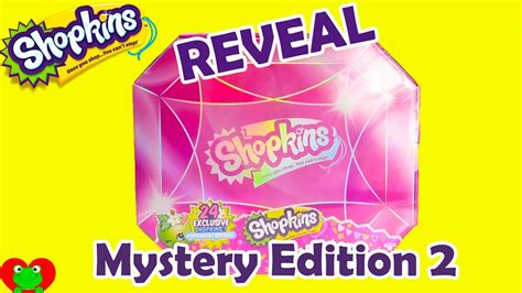 Shopkins Original Mystery Edition 2 shopkins mystery edition 2 reveal