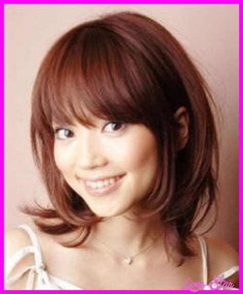 haircuts with bangs and layers haircuts for medium length hair with layers and bangs