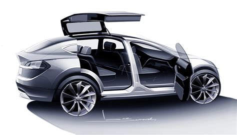 tesla suv 2015 redesigned 2015 tesla model x suv will be more centric