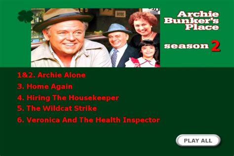 Archie Bunker's Place airing on Deja View in Canada ... Archie Bunker's Place Dvd