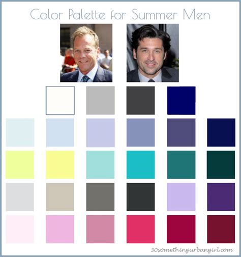 men s office colors 133 best images about color analysis summer men color