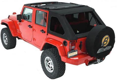 Best Top For Jeep Bestop 174 56923 17 Black Twill Trektop Nx