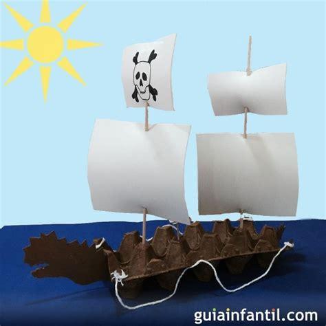imagenes de barcos con cajas de carton c 243 mo hacer una carabela de cart 243 n manualidades para ni 241 os