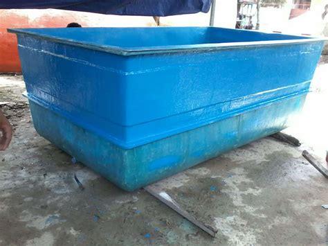 membuat filter air bak mandi bak fiber ikan koi kolam air fiberglass murah
