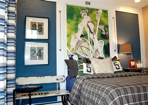 sports murals for bedrooms 10 awesome sports theme teen rooms kidspace interiors