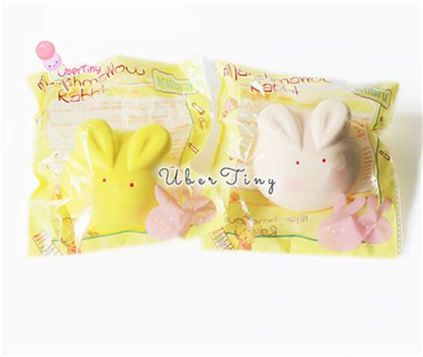 kiibru marshmallow bunny rising squishy scented 183 uber tiny 183 store powered