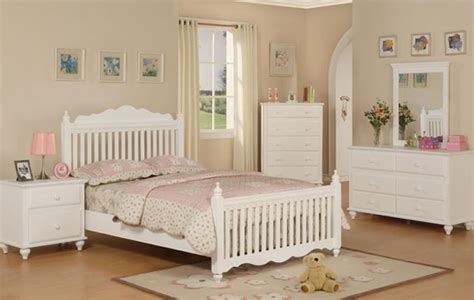full white bedroom set mission style pure white wood 4 pieces kids twin full