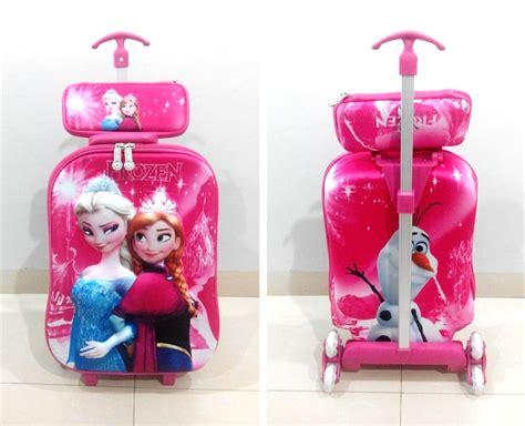 1set Tas Ransel Pink Size 26 32 katalog tas trolley troli 5d 3d grosirimpor