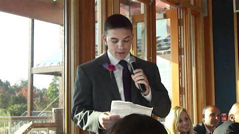Steve's Hilarious Best Man Speech   Funny Best Man Speech