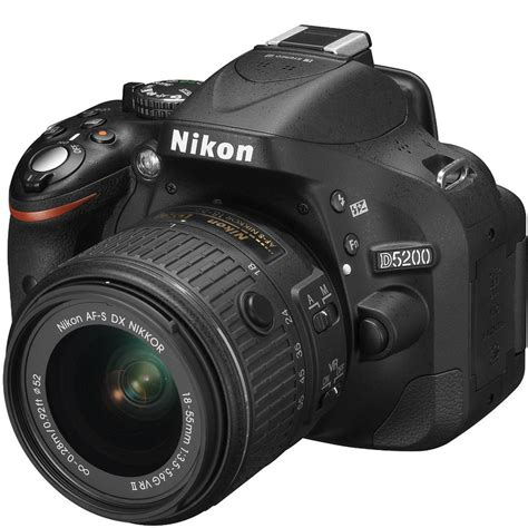 nikon d5200 nikon d5200 24 mp 18 55 vr ii c 225 mara digital
