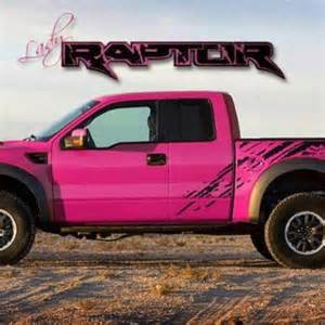Pink Ford Raptor Pink Truck Only Ford I D Own So Fetch